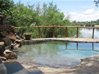 Pool, Chundukwa River Lodge